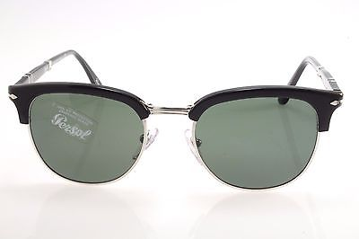 8faa87c848 New authentic sunglasses Persol 3132S 95 31 51 mm Black   Green Crystal