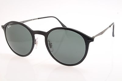 b0c78621d82 New original Ray Ban RB Lightray 4224 601S 71 49 Matte Black Dark Green  Lenses