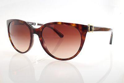 b3d4d489fa3f New original Emporio Armani EA 4057 5026 13 56 Women Sunglasses Havana Brown