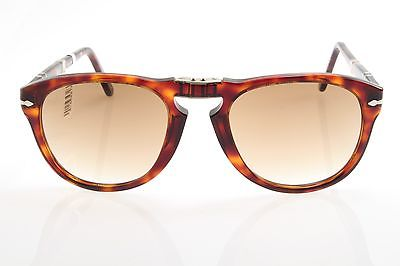71dccac642 New authentic sunglasses Persol 714 Folding 24 51 54 Havana Brown McQueen  54mm