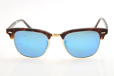549f4d9675 New original sunglasses Ray Ban RB 3016 Clubmaster 1145 17 49 Havana ...