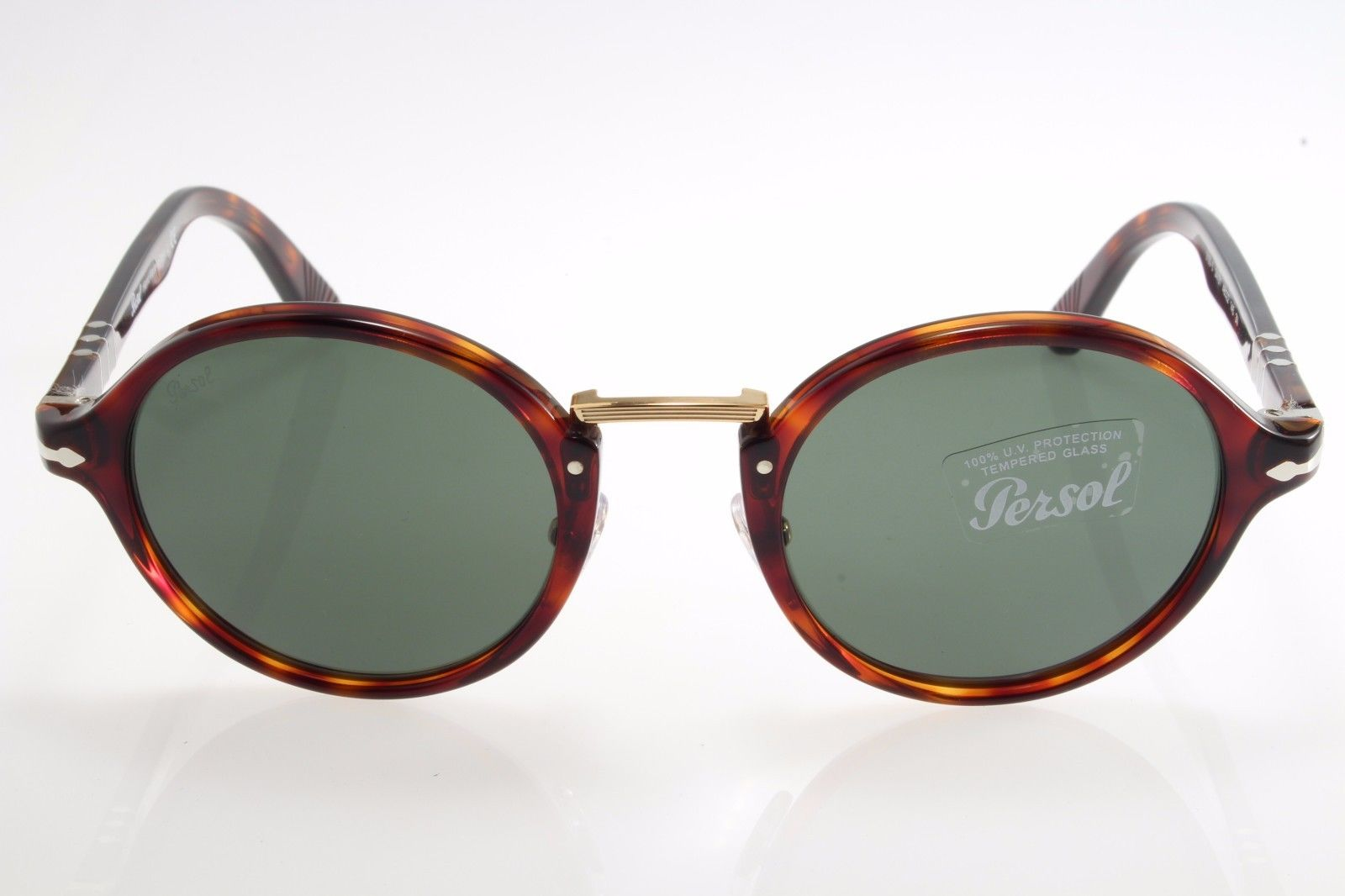 a40f9107c99 New authentic sunglasses Persol Typewriter 3129S 24 31 48 Havana Green  Crystal