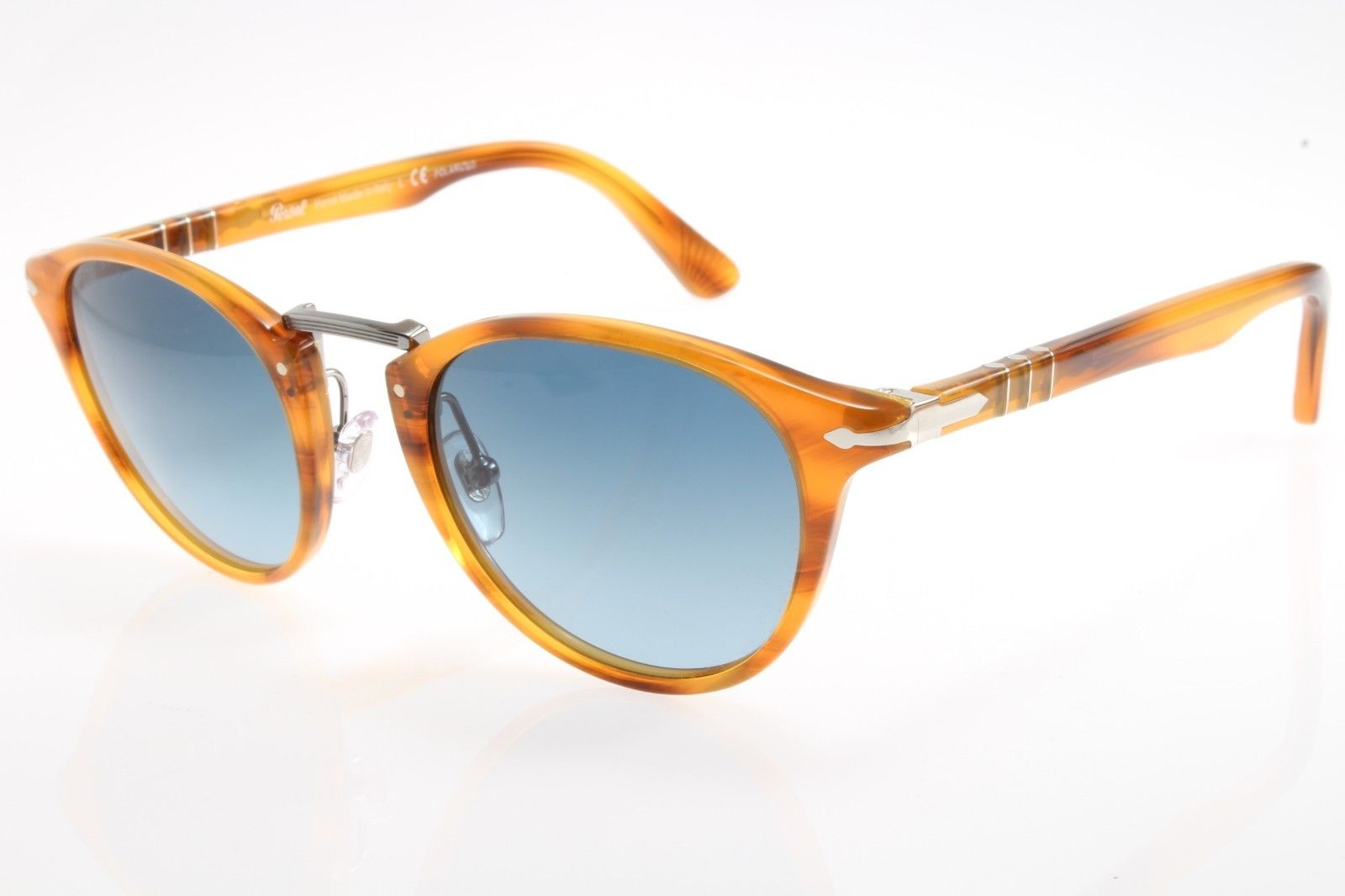 1f255d34c1e72 New authentic sunglasses Persol Typewriter 3108S 960 S3 49mm Striped ...
