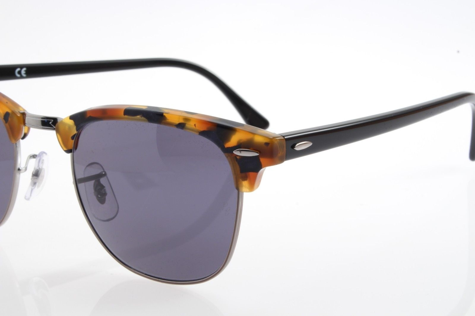 963b60b71 ... usa new original sunglasses ray ban rb 3016 1158 r5 clubmaster spotted  blue havana 23d86 11bd9