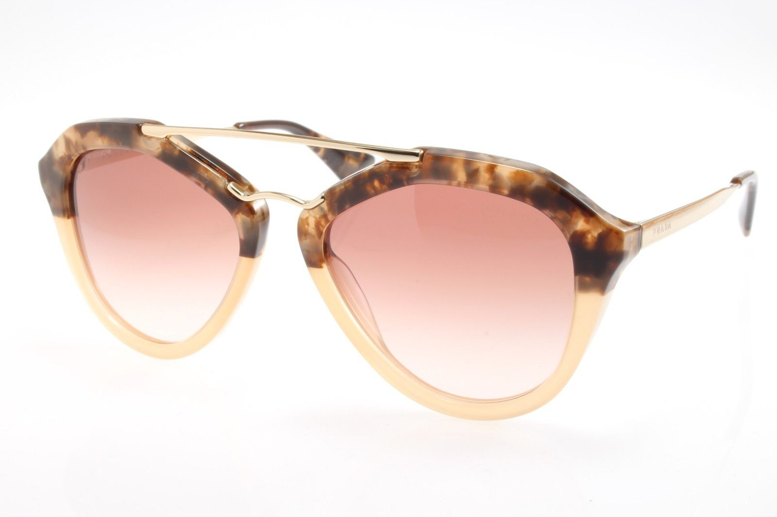 d1ff6a88a30b New original Prada Cinema SPR 12QS ROZ-0A6 54 Women`s Sunglasses Havana  Gradient