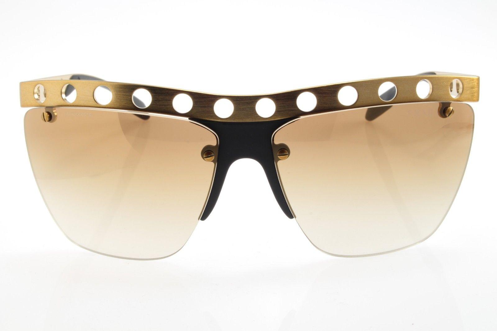 a933dbbe4a7 New original Prada Sunglasses Special Machine Women SPR 53R TWF-2G2 Bronze  Brown