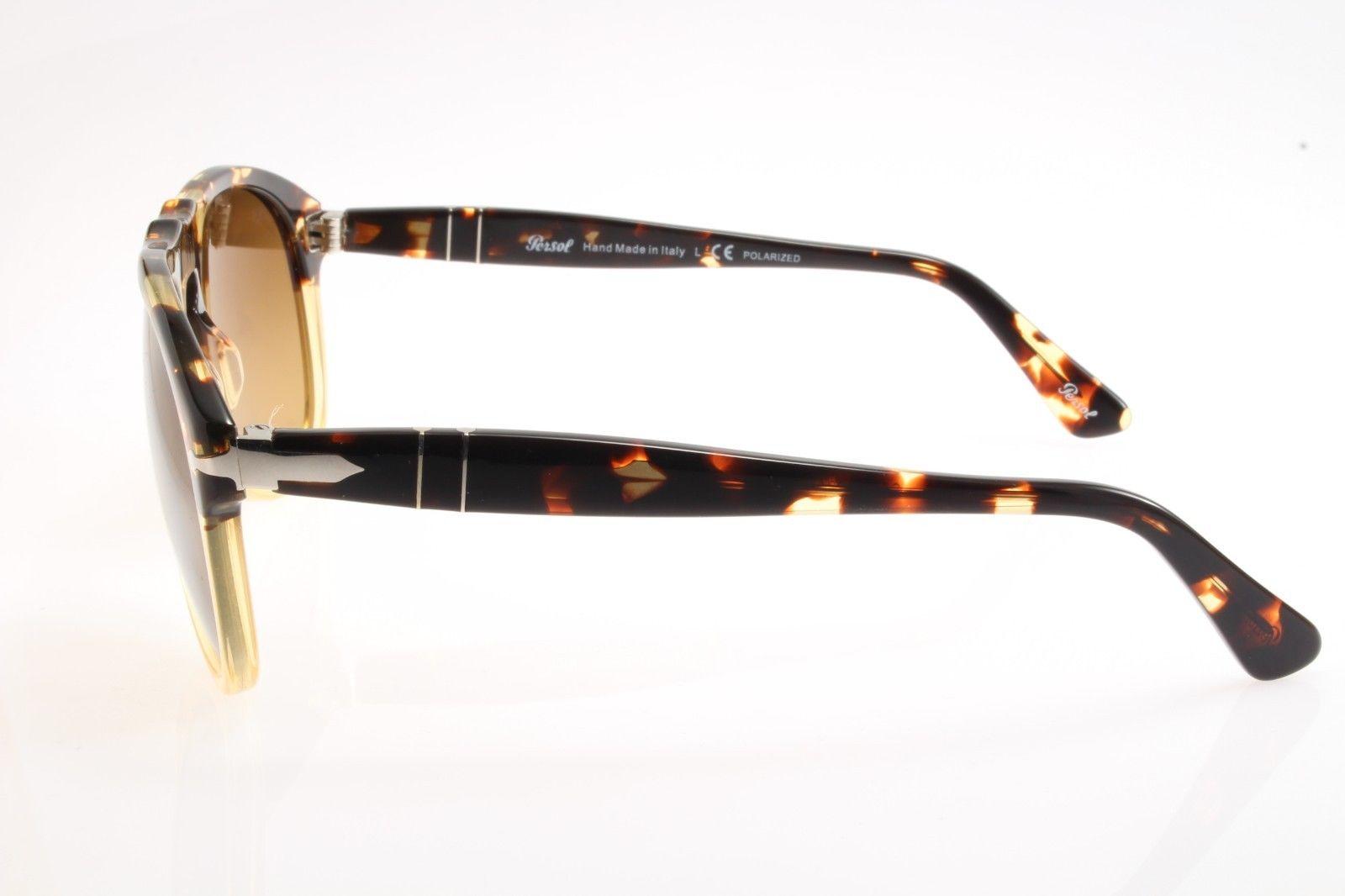 ae0b5106b7 New authentic sunglasses Persol 649 1024 M2 54 Ebano e Oro Brown Gradient  Polar