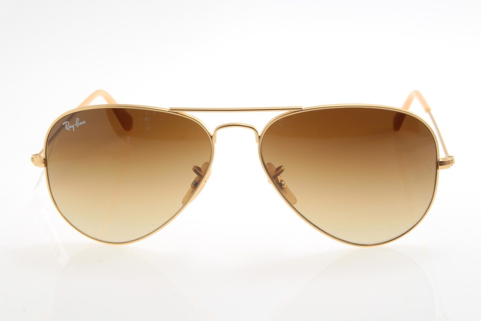 ray ban aviator mercury golden sunglasses  new original sunglasses ray ban rb 3025 112/85 55 aviator gold brown gradient