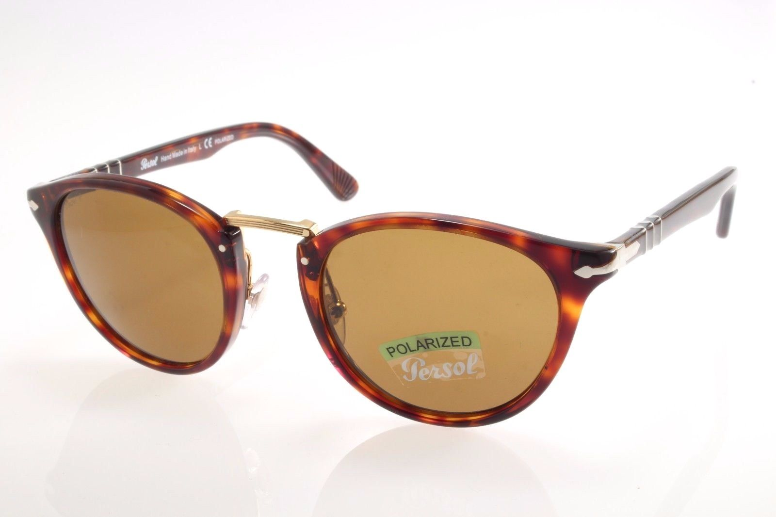 21772c1035 New authentic sunglasses Persol Typewriter 3108S 24 57 49 Havana ...