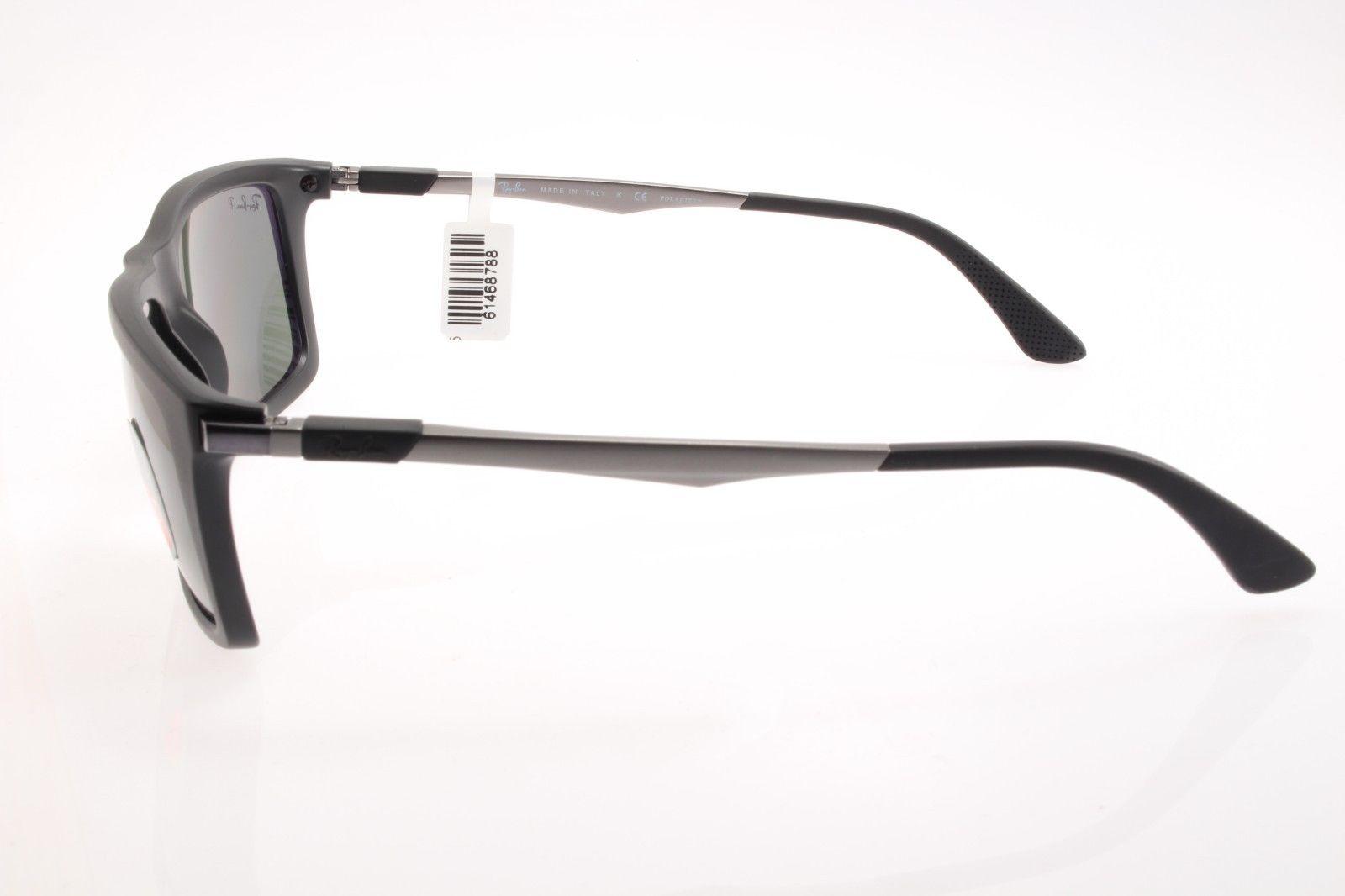 dd3dcffc6a New original sunglasses Ray Ban RB 4214 601-S 9A 59 Matte Black Polarized